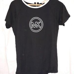 Michael Kohrs Black Shirt Top size medium